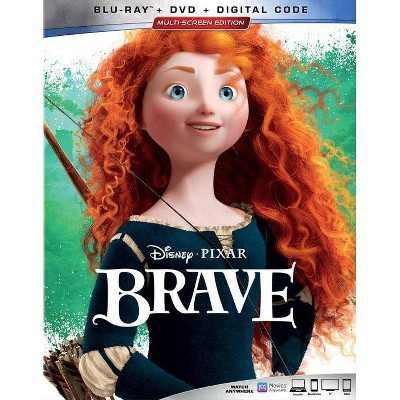 Brave Repackage (Blu-ray + DVD + Digital)