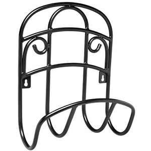 Liberty Garden 125 Foot LBG-231 Decorative Steel Hanging Hose Butler, Black