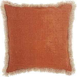 Life Styles Throw Pillow Stonewash Clay - Mina Victory