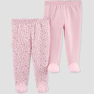 Baby Girls' 2pk Leggings - Just One You® made by carter's Pink Preemie