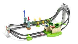 Hot Wheels Mario Kart Circuit Lite Track Set With 1:64 Scale Die-Cast Kart Vehicle