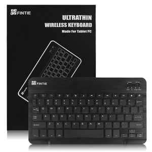 Fintie 10-Inch Ultrathin (4mm) Wireless Bluetooth Keyboard for Android Tablet Samsung, ASUS and Other Android Device