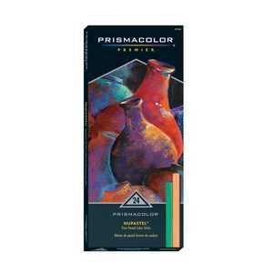 Prismacolor Nupastel Set, 24-Colors