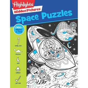 Space Puzzles - (Highlights(tm) Hidden Pictures(r)) (Paperback)