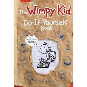 Wimpy Kid Do It Yourself - by Jeff Kinney (Hardcover)