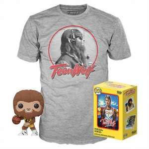 Funko POP! Movies Collectors Box: Teen Wolf Flocked POP! & Tee (Target Exclusive)