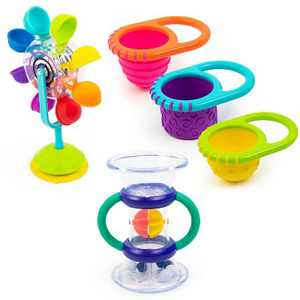 Sassy Water Discovery Bath Toy Gift Set - 5pc