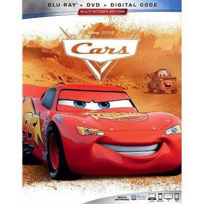 Cars (Repackage) (Blu-ray + DVD + Digital)