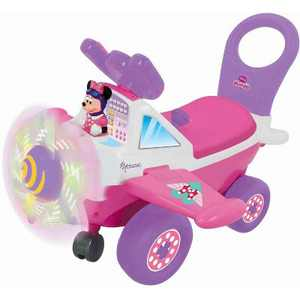 Kiddieland KDL-053207 My First Minnie Plane with Rotating Light Up Propellers