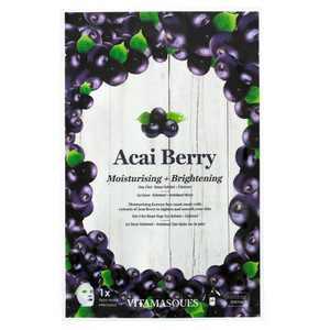 Vitamasques 3 in 1 Acai Berry Sheet Mask - 0.68 fl oz
