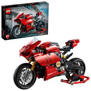 LEGO Technic Ducati Panigale V4 R 42107 Motorcycle Toy Building Toy Ages 10+ (646 pieces)
