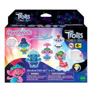 Aquabeads Trolls 2 World Tour Character Set Bead Kit