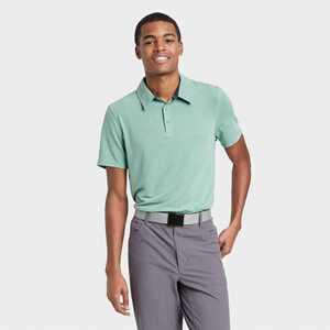 Men's Pique Golf Polo Shirt - All in Motion