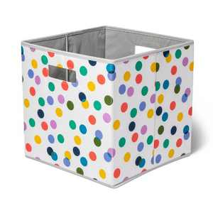 KD Bin With Multi Color Dots - Pillowfort™