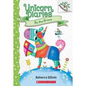 Bo the Brave: A Branches Book (Unicorn Diaries #3), Volume 3 - by Rebecca Elliott (Paperback)