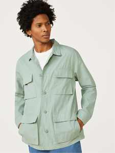 Free Assembly Men's Fatigue Jacket
