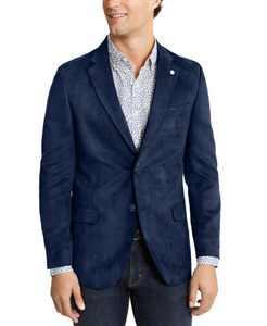 Men's Modern-Fit Faux-Suede Sport Coat
