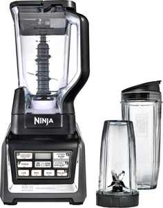 Nutri Ninja 72-Oz. Blender Duo with Auto IQ - Black/Silver