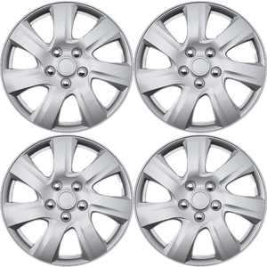 "16"" inch Silver Wheel Covers for Select Toyota Camry - Set of 4"