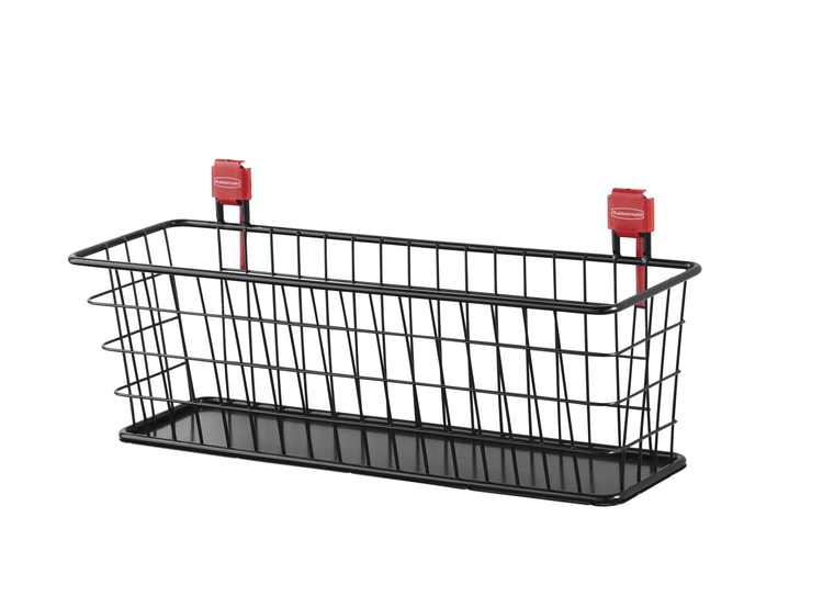 Rubbermaid Shed Accessory, Small Wire Basket