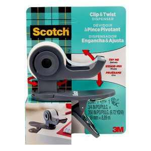 Scotch Clip & Twist Tape Dispenser