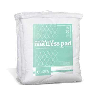eLuxury Plush Crib Mattress Topper