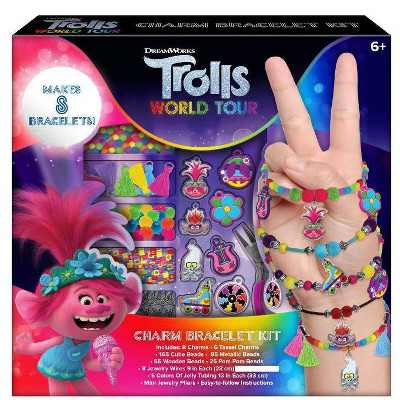 Trolls 2 World Tour Charm Bracelet Activity Kit