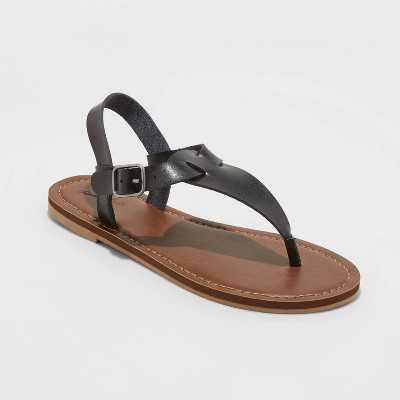 Women's Lady T Strap Sandals - Universal Thread