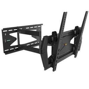 Monoprice Commercial Series Full-Motion TV Wall Mount Bracket TVs 32in to 55in, Max Weight 88lbs, Extends 3.0in to 21.6i