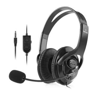 Insten Premium Gaming Headset Earphone Headphone with Mic Microphone for Sony Playstation PS4/PS5