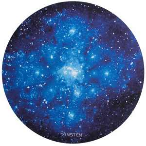 Insten Round Galaxy Mouse Mat Pad High Quality 2mm Thick Non Slip For PC Computer Laptop
