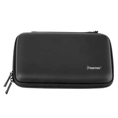 Insten Carrying Case EVA Hard Pouch with 4 Game Cartridge Holder Slot for Nintendo 2DS XL 3DS XL New 3DS XL