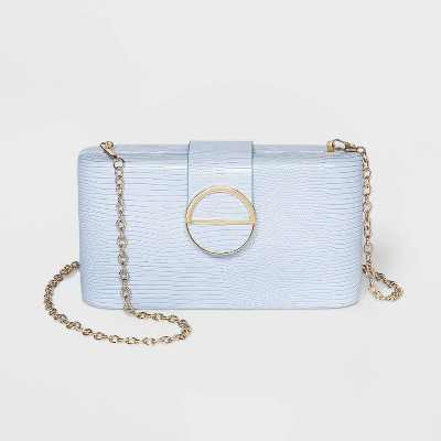 Estee & Lilly Magnetic Closure Mini Clutch - Lilac