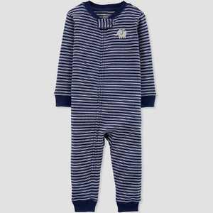 Baby Boys' Elephant Pajama Jumpsuit - little planet organic by carter's Navy