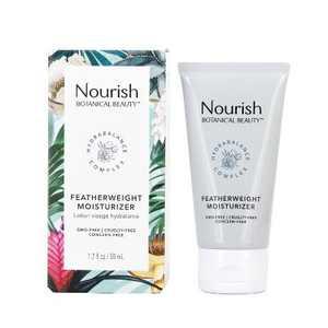 Nourish Organic Botanical Beauty Featherweight Moisturizer - 1.7 fl oz