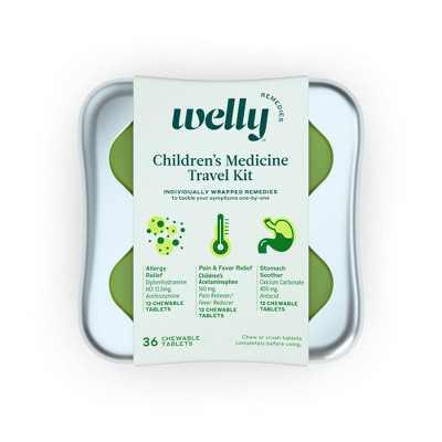 Welly Kids Medicine Kit - 36ct