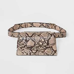 Women's Snake Print Magnetic Closure Fanny Pack - A New Day™