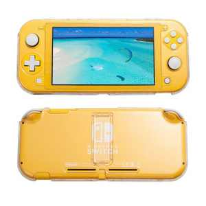 Insten Crystal Clear Case with Stand Compatible for Nintendo Switch Lite 2019, Ultra Slim Lightweight Shock Absorption Anti Scratch Protective Shell