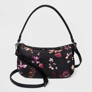 Zip Closure Shoulder Handbag - A New Day