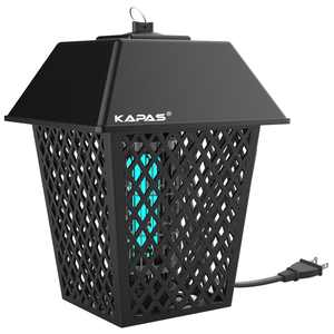 KAPAS Electric Bug Zappers, 20W Outdoor & Indoor Blue Light Pest Control Lantern for Mosquitoes, Flies, Gnats, Pests & Other Insects