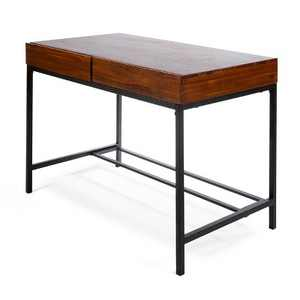 Ebany Industrial Desk Dark Oak - Christopher Knight Home