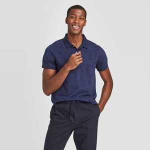 Men's Slim Fit Short Sleeve Pique Polo Shirt - Goodfellow & Co