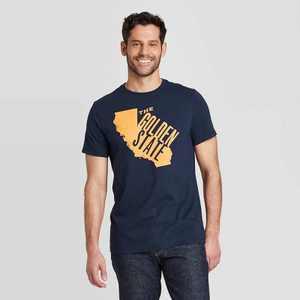 Men's Regular Fit Short Sleeve Crew Neck Graphic T-Shirt - Goodfellow & Co