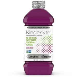 Kinderlyte Natural Oral Electrolyte - Wild Berry - 33.8 fl oz