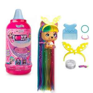 VIP Pets S1 Mousse Bottle Surprise Hair Reveal Doll