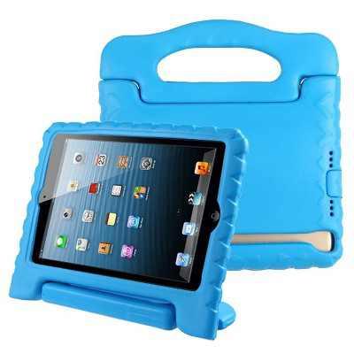 Valor Handbag Kids Drop-resistant Protector Cover For Apple iPad Mini 5(2019), Blue