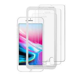 Valor 3-Pack Clear Tempered Glass LCD Screen Protector Film Cover For Apple iPhone 6/6s/7/8