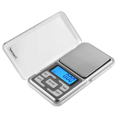Insten Pocket Jewelry Scale Digital 0.01 g gram 200g Kitchen Food Small Mini Scale Weight Scale, Tare Fuction, 4 unit selection: g tl oz ct