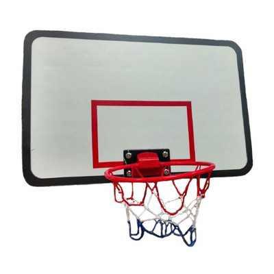 JumpKing ACC-UBSKU Universal Adjustable Trampoline Basketball Hoop w/ Basketball