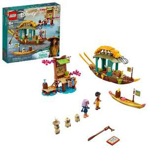 LEGO Disney Boun's Boat Building Toy 43185
